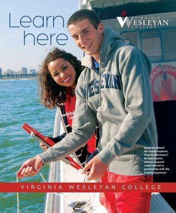 Download our viewbook (PDF) - Virginia Wesleyan College