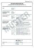 Betriebsanleitung Stand: 31-07-2013 - Gerriets - Seite 2