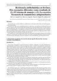Resistencia antihelmíntica en bovinos. Dos escenarios - INTA