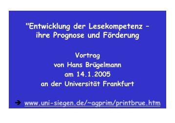 als .pdf - Arbeitsgruppe Primarstufe - Universität Siegen