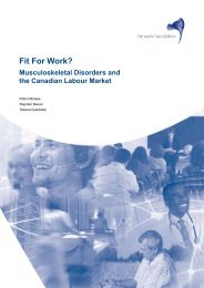 Fit For Work? - The Conference Board of Canada