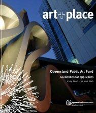 Arts Queensland - Public Art Online
