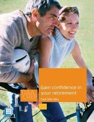 Gain confidence in your retirement - TIAA-CREF