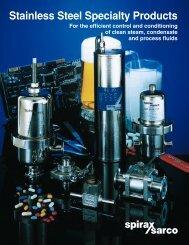 Stainless Steel Specialties