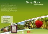 Landwirtschaft mit Terra Biosa