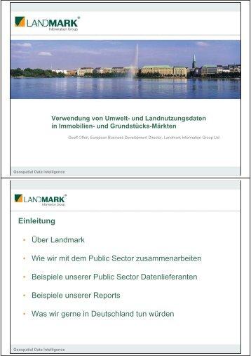 und Landnutzungsdaten in Immobilien- und Grundstücks ... - LAGA