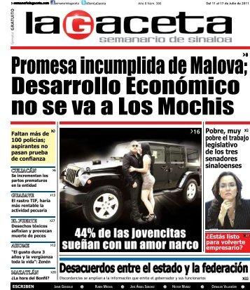 Descarga la Edicion PDF - SEMANARIO LA GACETA