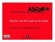 Effecten van Non-spot op de Radio - Rab