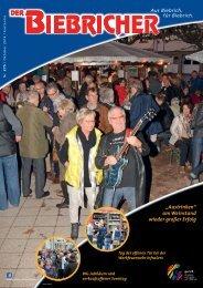 DER BIEBRICHER, Ausgabe 275, Oktober 2014