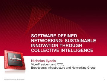 software defined networking - Ethernet Technology Summit