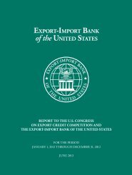 2012 Competitiveness Report - Export-Import Bank of the United ...