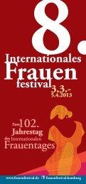 pfd-Datei downloaden - 8. Internationales Frauenfestival 2013 in ...