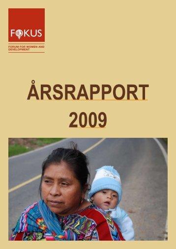 Årsrapport 2009 - Fokus
