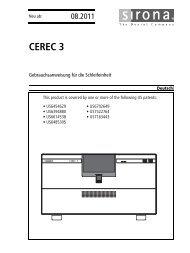 CEREC 3