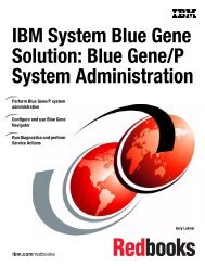 IBM System Blue Gene Solution: Blue Gene/P System Administration