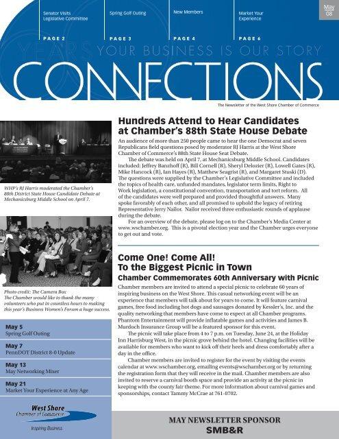 may newsletter sponsor - West Shore Chamber of Commerce