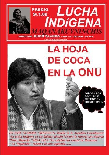 Lucha Indígena No. 7 PDF