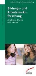 Bildungs- und Arbeitsmarkt- forschung - W. Bertelsmann Verlag