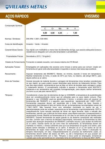 VHSSM50 - Villares Metals