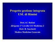 Progetto gestione integrata USL di Rimini - Aicod
