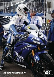 SS-KIT-HANDBUCH - Yamaha Racing Parts