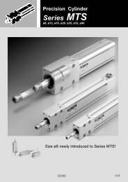 Precision Cylinder Series MTS - SMC