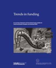 Trends in funding - Milieukontakt International