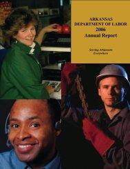 2006 Annual Report - Arkansas Department of Labor
