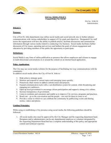 ibm social media policy pdf