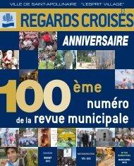 REGARDS CROISéS - Ville de Saint-Apollinaire