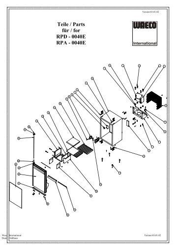 Coolmatic Rpd 110 manual