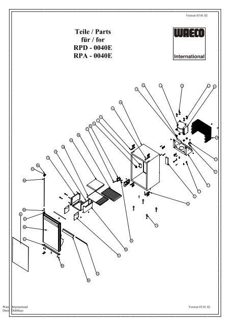 Rpd Parts Diagram