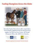 IN SEARCH OF SVELTE - Kentucky Equine Research - Page 2