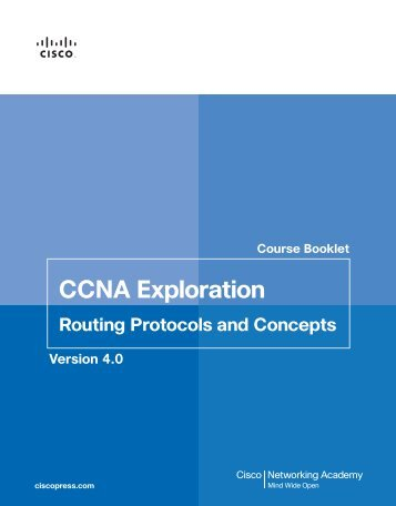 CCNA Exploration - The Cisco Learning Network