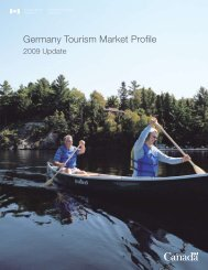Enter Title Here - Canadian Tourism Commission - Canada