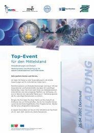 Einladung Top-Event - ChemSite