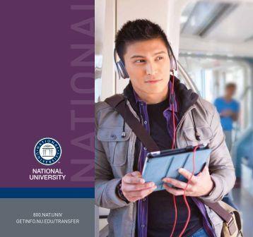 National University Transfer