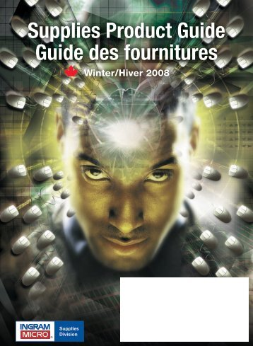Supplies Product Guide Guide des fournitures - Ingram Micro