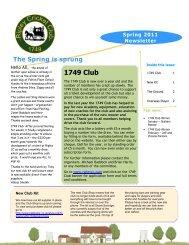 1749 Club - Ripley Cricket Club