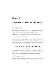 Appendix A: Metrics Dictionary - UCSD VLSI CAD Laboratory
