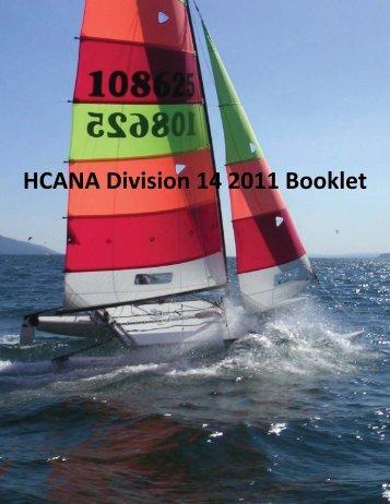 HCANA Division 14 2011 Booklet - Hobie Division 14 - International ...