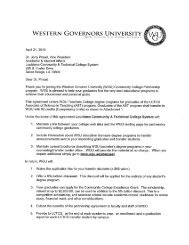 Articulation Agreement - Louisiana Community and Technical ...