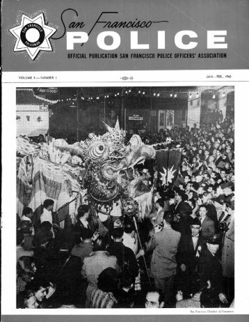 January-February 1960 - San Francisco Police Officers Association