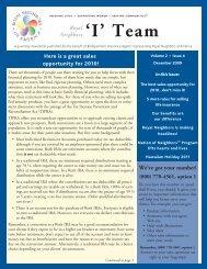 I Team Issue 1 2009 - ECA Marketing