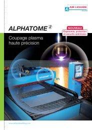 Plaquette ALPHATOME FR_DOC - Air Liquide Welding
