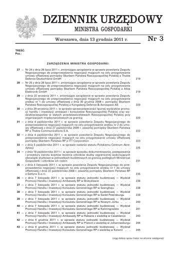 pobierz plik .pdf - Biuletyn Informacji Publicznej   BIP - Ministerstwo ...