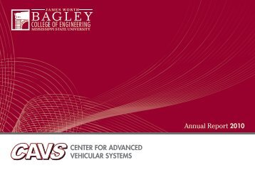 Untitled - Center for Advanced Vehicular Systems - Mississippi State ...