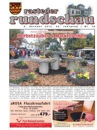 rasteder rundschau, Ausgabe Oktober 2012