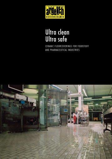 Ultra clean Ultra safe