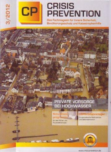 Crisis Prevention Fachmagazin - sogro